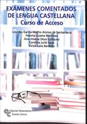 Portada Exámenes comentados de Lengua Castellana