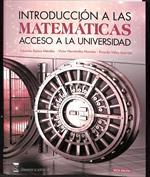 Portada Introducción a las matemáticas. Acceso a la Universidad