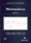 Portada Matemáticas. Acceso a la Universidad. 2 Vol.