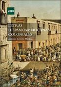 Portada Letras hispanoamericanas coloniales