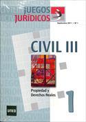 Juegos jurídicos. Derecho civil III nº3