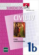 Juegos Jurídicos. Derecho Civil IV. Crisis matrimoniales 1B