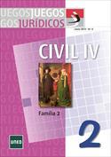 Juegos Jurídicos. Derecho Civil IV. Familia 2