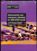 Portada Intervención con menores y jóvenes en dificultad social
