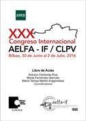 Libro de actas del XXX congreso internacional de  AELFA-IF   CLPV