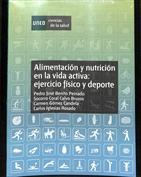 Portada Alimentación y nutrición en la vida activa. Ejercicio físico y deporte