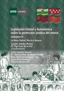 Legislación estatal y autonómica sobre la protección jurídica del menor.La Rioja, Madrid, Murcia y Navarra