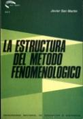 La estructura de método y fenomenológico