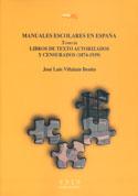 Manuales escolares en España. Tomo III