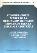 Consideraciones acerca de la realización de textos didácticos para la enseñanza a distancia