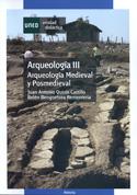 Portada Arqueología III. Arqueología medieval y posmedieval