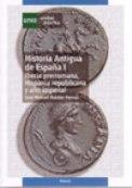 Historia Antigua de España I. Iberia prerromana, Hispania republicana y alto imperial