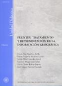 Fuentes, tratamiento y representación de la información geográfica