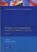 History of linguistics. Vol. II