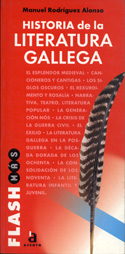 Portada Historia de la literatura gallega(D)