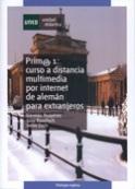 Portada Prim@ 1. Curso a distancia multimedia por internet de alemán para extranjeros