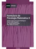 Adenda psicología matemática II. Formulario