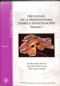 Psicología de la personalidad. Vol. I .Teoría e investigación