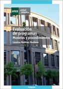 Portada Evaluación de programas. Modelos y procedimientos