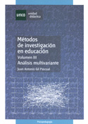 Métodos de investigación en educación III. Análisis multivariante