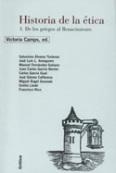 Historia de la ética.  Volumen  I