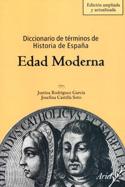Portada Diccionario de términos de Historia de España. Edad moderna