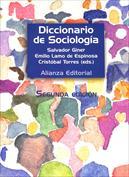 Portada Diccionario de sociología