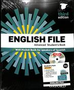 English file advanced (3rd ed.). Students book, workbook, with key pack