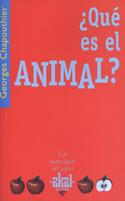 ¿Qué es el animal?