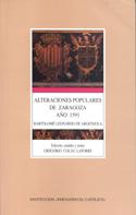 Alteraciones populares de Zaragoza, año 1591