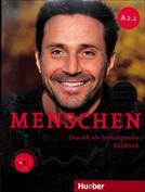 Portada Menschen A2.1 Kursbuch (Pack 2 libros)