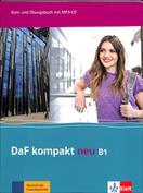 Portada DaF kompakt neu B1, libro del alumno y libro de ejercicios