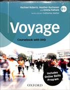 Imagen de Voyage B1 . Student's book   workbook  oxford online skills program B1  (bundle 1) pack with answer key