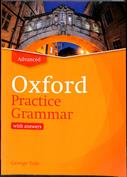 Portada Oxford Practice Grammar. Advanced. With answers