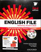English File Elementary (3RD. ED.). Student's Book , Pocket Book, iTutor DVD, Workbook with Key and iCheck CD, Vocabular