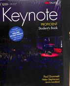 Portada Keynote. Proficient. Students book