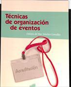 Portada Técnicas de organización de eventos