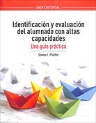 Portada Identificación y evaluación del alumnado con altas capacidades. Una guía práctica