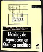 Técnicas de separación en química analítica