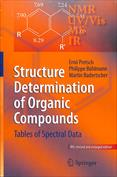 Portada Structure Determination of Organic Compounds. Tables of Spectral Data