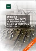 Portada Estadística e Informática SPSS en la investigación descriptiva e inferencia l (versión actualizada SPSS24)