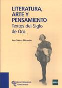 Portada Literatura, arte y pensamiento. Textos del siglo de Oro (D)