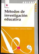 Portada Métodos de investigación educativa