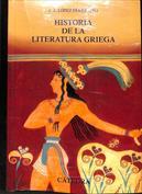 Portada Historia de la literatura griega