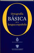 Portada Ortografía básica de la lengua española