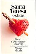 Portada Poesía y pensamiento de Santa Teresa de Jesús. Antología