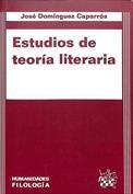 Estudios de teoría literaria