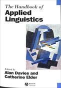 Handbook of Applied Linguistics