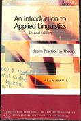 Portada An Introduction to Applied Linguistics. From Practice to Theory