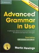 Portada Advanced grammar in use Book
